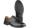 FS44 Amblers Safety Black 4-Eyelet Leather Lined Brogue Safety Shoes