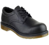 FS57 Dr Martens Smooth Black Safety Shoes - Sentinel Laboratories Ltd