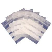 Grip Seal Bags with Write on Panels 200g