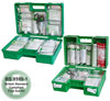 British Standard Compliant Deluxe Workplace First Aid Kit - Green/Orange - Sentinel Laboratories Ltd
