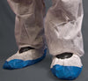 Shield DF02 CPE/Non-Woven Overshoes - Sentinel Laboratories Ltd