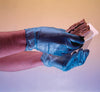 Shield GD14 Powder Free Blue Disposable Vinyl Gloves - Sentinel Laboratories Ltd