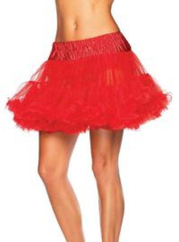 Petticoat Tulle - Red - One Size