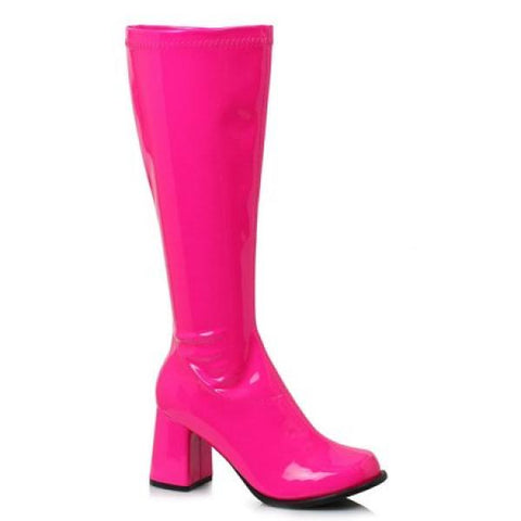 Hot Pink - Stretch GoGo Boot