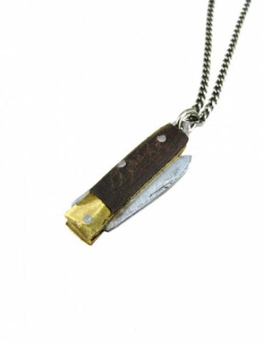 Retractable Knife Necklace