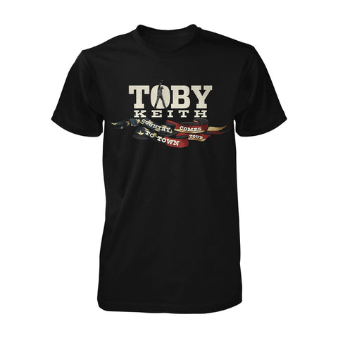 Country Comes to Town Tee