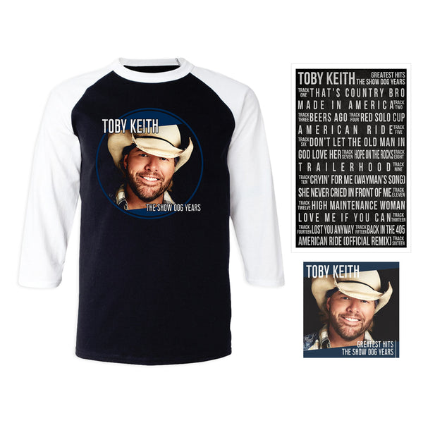Toby Keith Greatest Hits: The Show Dog Years Everything Bundle