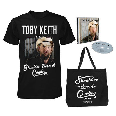 Should've Been A Cowboy 25th Anniversary Limited Edition CD Bundle