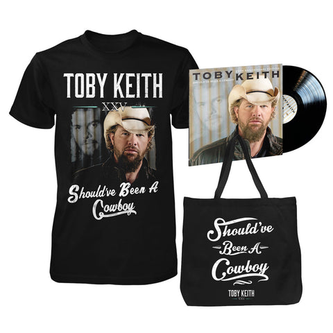 Should've Been A Cowboy 25th Anniversary Limited Edition Vinyl Bundle