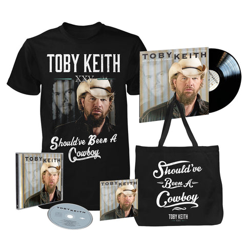 Should've Been A Cowboy 25th Anniversary Deluxe Everything Bundle