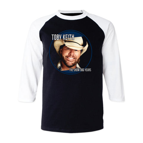Toby Keith Greatest Hits: The Show Dog Years Raglan