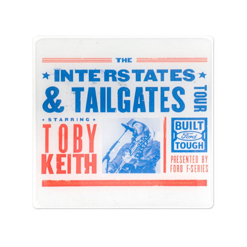 Interstates and Tailgates Logo Magnet
