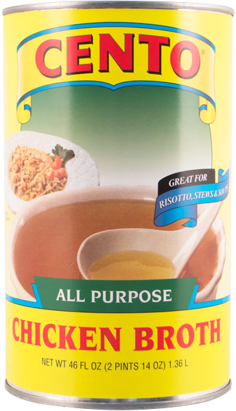 Cento All Purpose Chicken Broth  46 OZ