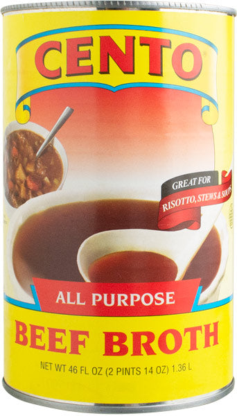 Cento Beef Broth  46 OZ