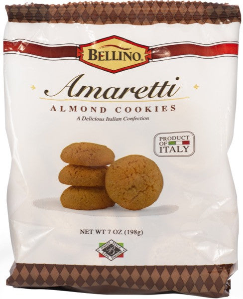 Bellino Amaretti Cookies  7 OZ