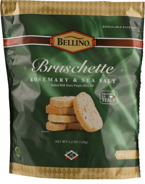 Bellino  Rosemary & Sea Salt Bruschette 4.2 OZ