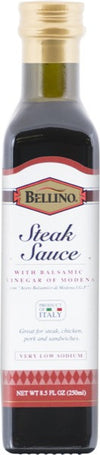 Bellino Balsamic Steak Sauce 8.5 FL OZ