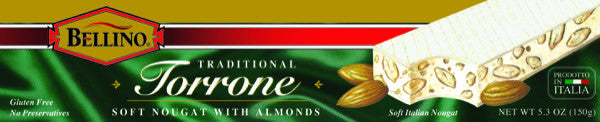 Bellino Soft Torrone Bar  5.3 OZ