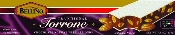 Bellino Chocolate Torrone Bar 5.3 OZ