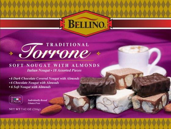 Bellino Assorted Torrone 18 PC