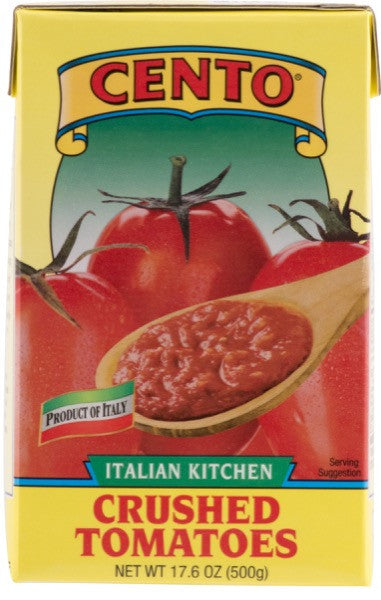 Cento Italian Kitchen Crushed Tomatoes Aseptic 17.6 OZ