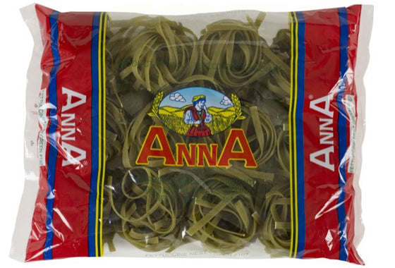 Anna Fettuccine Spinach Nests 1 LB