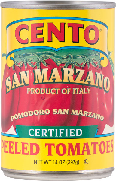 Cento Certified San Marzano Tomatoes 14 OZ