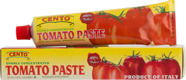 Cento Double Concentrated Tomato Paste Tube  4.56 OZ