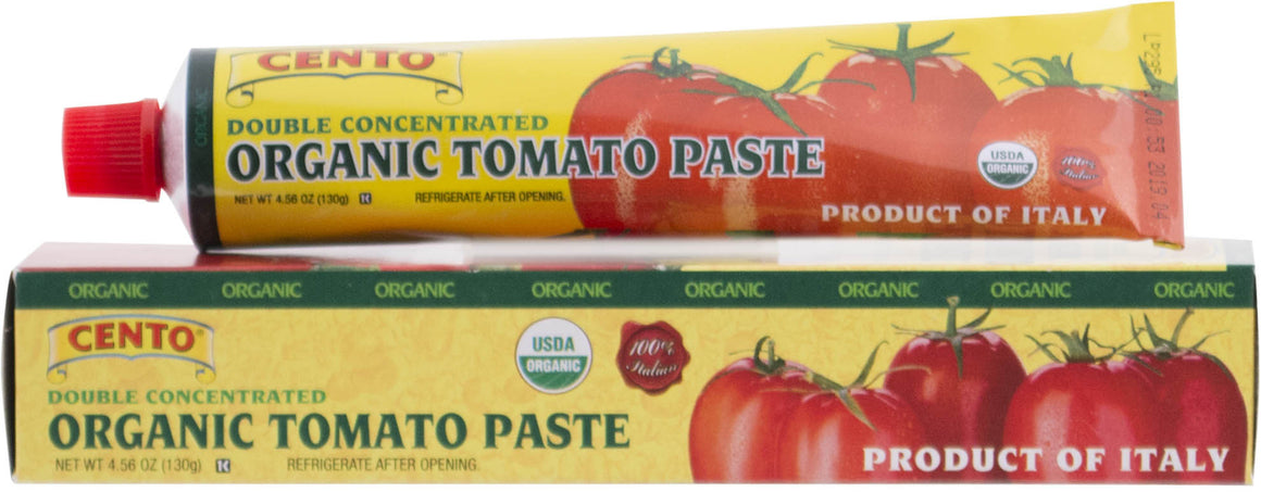 Cento Organic Tomato Paste in a Tube  4.56 OZ