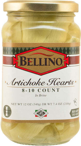 Bellino Artichokes in Brine 8-10 12 OZ