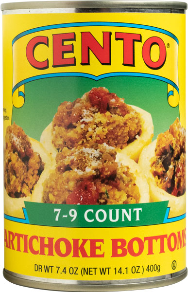 Cento Artichoke Bottoms 7-9 14 OZ