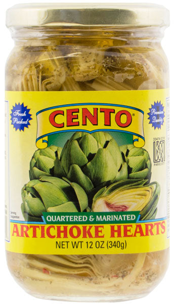 Cento Quartered & Marinated Artichoke Hearts 12 OZ