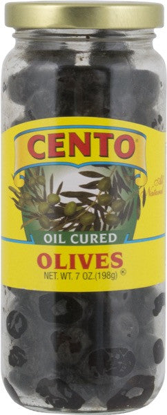 Cento Oil Cured Olives 7 OZ