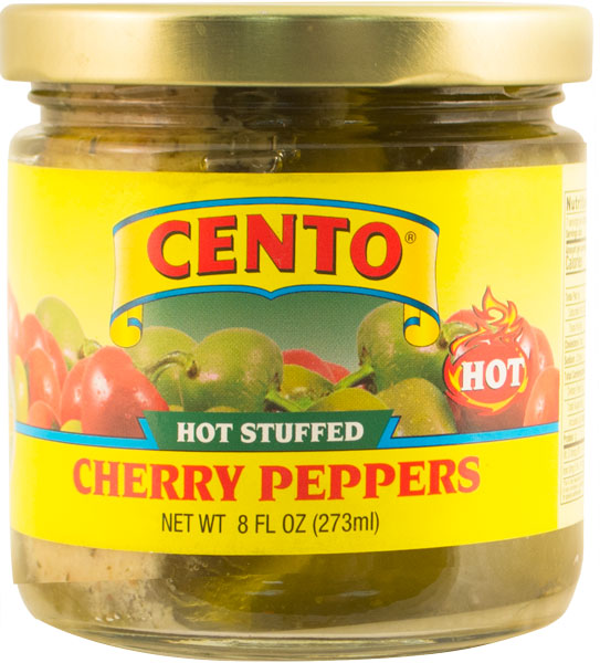 Cento Hot Stuffed Peppers 8 OZ