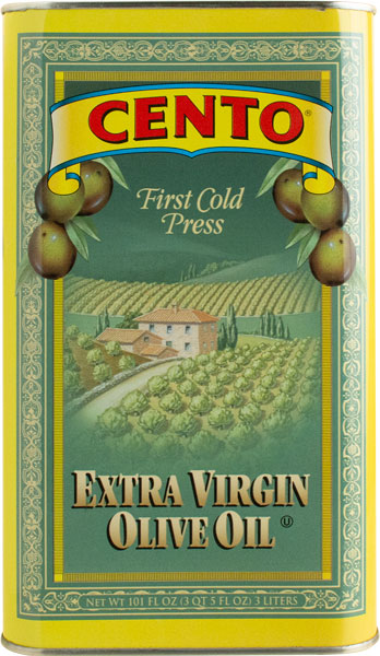 Cento Imported Extra Virgin Olive Oil Tin 101 FL OZ