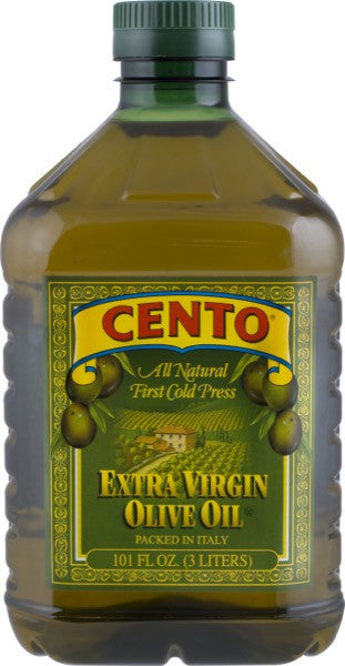 Cento Imported Extra Virgin Olive Oil Plastic 101 FL OZ