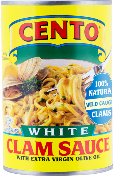 Cento White Clam Sauce 15 OZ