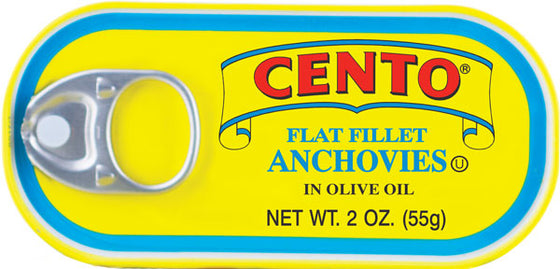 Cento Flat Fillets of Anchovies 2 OZ