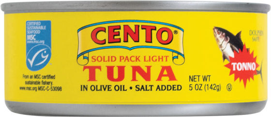 Cento Tuna Fish in Olive Oil  5 OZ