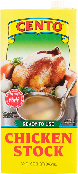 Cento Chicken Stock 32 FL OZ
