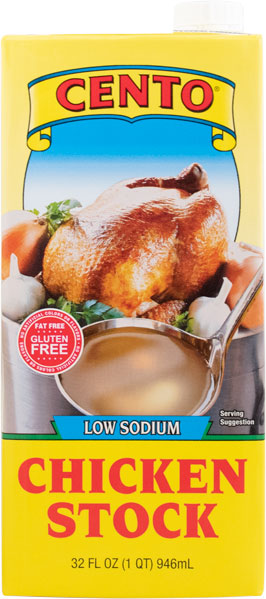 Cento Low Sodium Chicken Stock 32 FL OZ