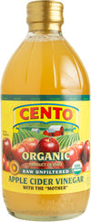 Cento Organic Raw Unfiltered Apple Cider Vinegar 16.9 FL OZ