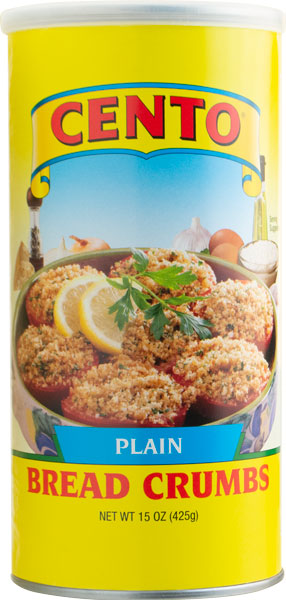 Cento Plain Bread Crumbs 15 OZ