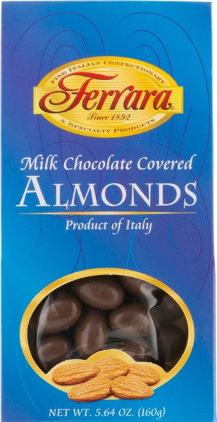 Ferrara Milk Chocolate Covered Almonds  5.64 OZ