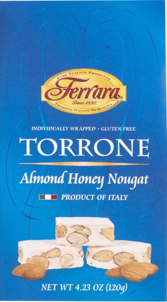 Ferrara Almond Honey Nougat Torrone Miniatures  4.23 OZ