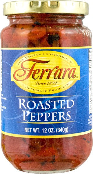 Ferrara Roasted Peppers 12 OZ
