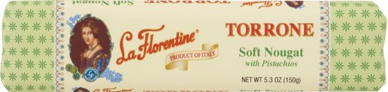 La Florentine Soft Nougat with Almonds & Pistachios 5.3 OZ