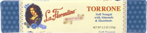 La Florentine Soft Nougat with Almonds & Hazelnuts 5.3 OZ