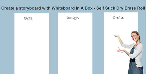 Whiteboard In A Box is the Perfect Storyboard