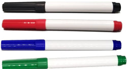 Whiteboard Marker - Medium Tip - 4 Pack